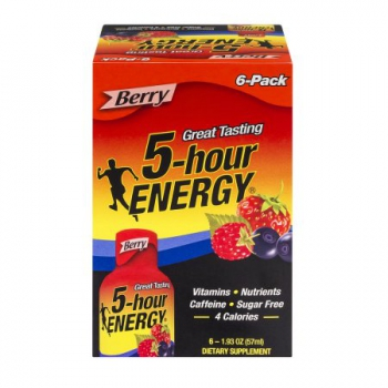 5-Hour Energy Shot  Berry 6 Pack
