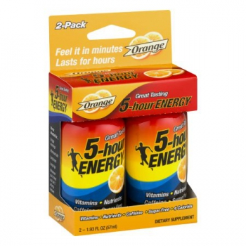 5 Hour Energy Shot Orange 2 Pack