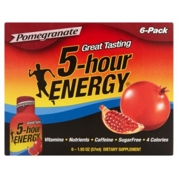 5-Hour Energy Shot Pomegranate 6 Pack
