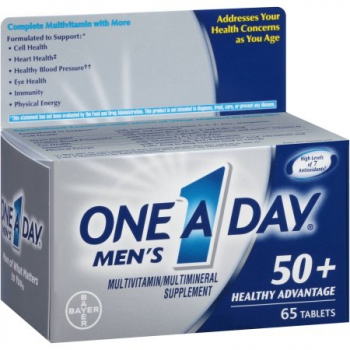 One A Day  Multivitamintabletten  50+