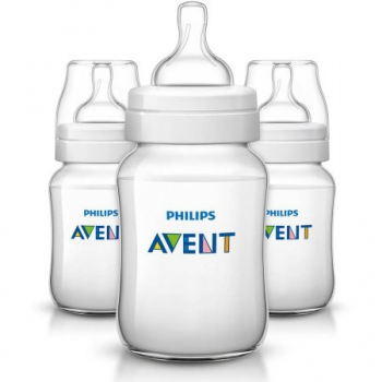 Philips Avent Anti-Colic BPA-Free Baby Bottles - 255g, Clear