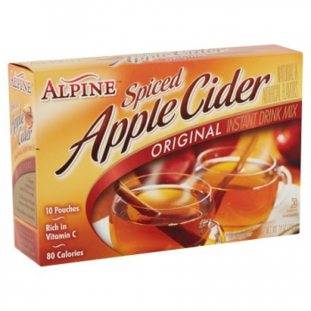 Alpine Spiced Apple Cider Original Instant Drink Mix ca. 210g (7.4oz)