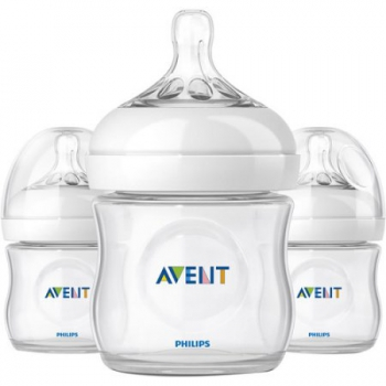 Philips Avent BPA Free Natural Baby Bottle - 118ml