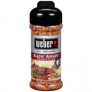 Weber All Natural Blazin' Burger Seasoning ca. 170g (6oz)