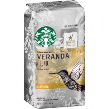 Starbucks Blonde Veranda Blend Ground Coffee ca. 340g (12oz)