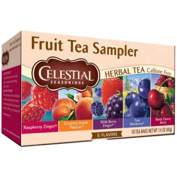 Celestial Seasonings Fruit Tea Sampler ca. 40g (1.4oz)
