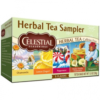 Celestial Seasonings Herbal Tea Sampler ca. 30g (1oz)
