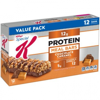 Kellogg's Special K Bar, 12 Grams of Protein, Chocolate Caramel ca. 540g (19oz)