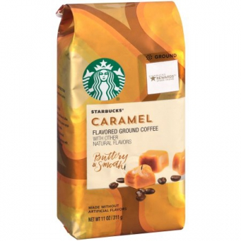 Starbucks Caramel Flavored Coffee ca. 340g (12oz)