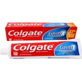 Colgate Cavity Protection Toothpaste, ca. 226g (8oz)