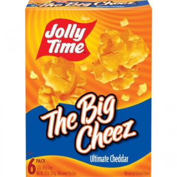 Jolly Time The Big Cheez Ultimate Cheddar Microwave Popcorn ca. 510g (18oz)