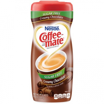 Nestle Coffee-mate Sugar Free Creamy Chocolate Powder Coffee Creamer ca. 289g (10.2oz)