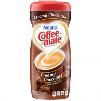Nestle Coffee-mate Creamy Chocolate Powder Coffee Creamer ca. 425g (15oz)