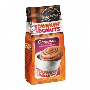Dunkin' Donuts Ground Coffee Bakery Series Cinnamon Coffee Roll ca. 311g (11oz)