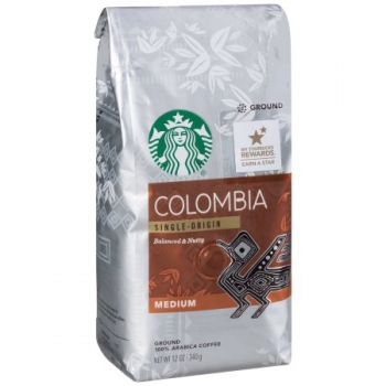 Starbucks Colombia Ground Coffee ca. 340g (12oz)