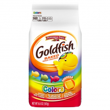 Pepperidge Farm Goldfish Colors Cheddar ca. 187g (6.6oz)