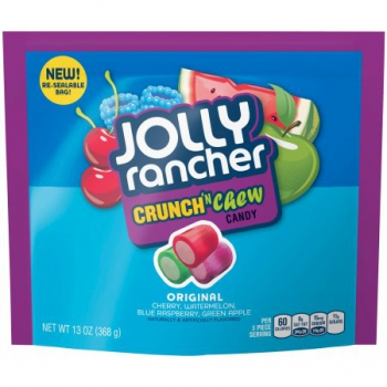 Jolly Rancher Original Crunch 'N Chew Candy Assortment ca. 368g (13oz)