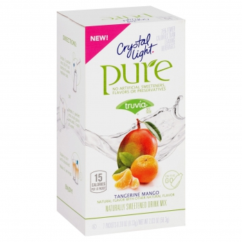 Crystal Light Pure On The Go Tangerine Mango 7ct