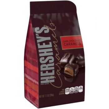 Hershey's Dark Chocolate Caramels ca. 204g (7.2oz)