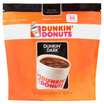Dunkin' Donuts Dunkin' Dark Ground Coffee ca. 680g (24oz)
