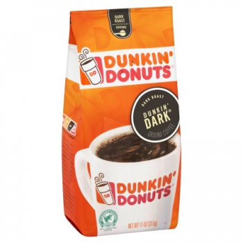Dunkin' Donuts Dunkin' Dark Roast Ground Coffee ca. 311g (11oz)