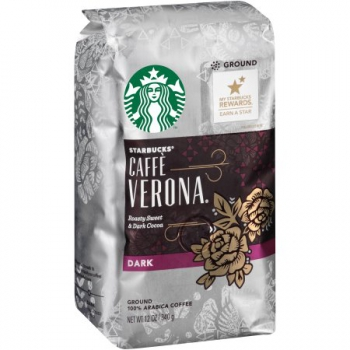 Starbucks 100% Arabica Coffee Caffe Verona Dark Ground ca. 340g (12oz)