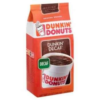 Dunkin' Donuts Dunkin' Decaf Ground Coffee ca. 340g (12oz)