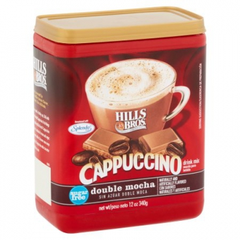 Hills Bros. Sugar Free Double Mocha Cappuccino Drink Mix ca. 340g (12oz)
