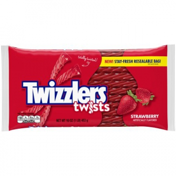 Twizzlers Strawberry Candy Twists ca. 453g (16oz)