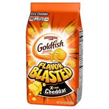 Pepperidge Farm Goldfish Xtra Cheddar ca. 187g (6.6oz)