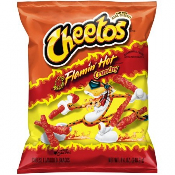 Cheetos Flamin' Hot Crunchy ca. 240g (8.46oz)