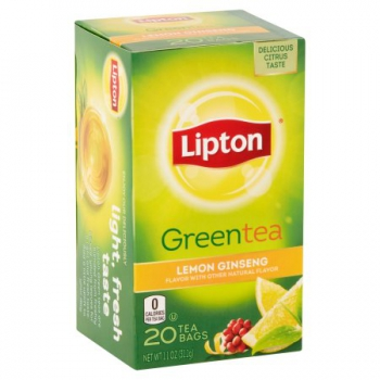 Lipton Lemon Ginseng Green Tea ca. 31g (1.1oz)