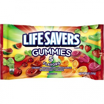 Life Savers Gummies 5 Flavors Candy ca. 368g (13oz)