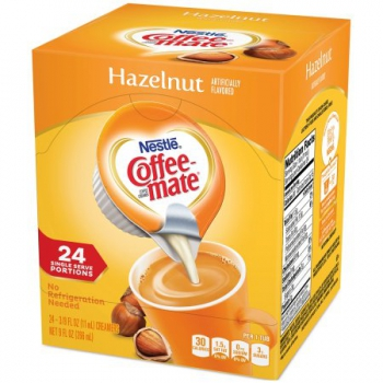 Nestle' Coffee-Mate Hazelnut 24 Einzelpackungen fluessig ca. 266ml (9oz)