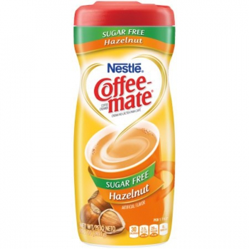 Nestle Coffee-mate Sugar Free Hazelnut Powder Coffee Creamer ca. 289g (10.2oz)