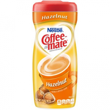 Nestle Coffee-mate Hazelnut Powder Coffee Creamer ca. 425g (15oz)