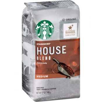 Starbucks House Blend Medium Ground 100% Arabica Coffee ca. 340g (12oz)