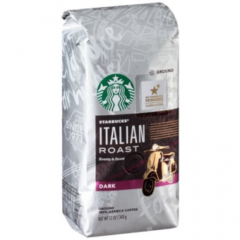 Starbucks Italian Roast Dark Ground Coffee ca. 340g (12oz)