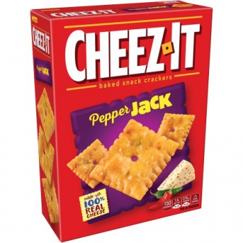 Cheez-It Pepper Jack Baked Snack Crackers ca. 351g (12.4oz)