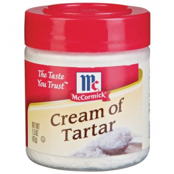 McCormick  Cream of Tartar (Weinstein) ca. 42g (1.5oz)
