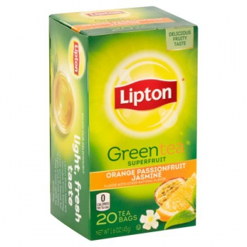 Lipton Orange Passionfruit Jasmine Green Tea ca. 45g (1.6oz)