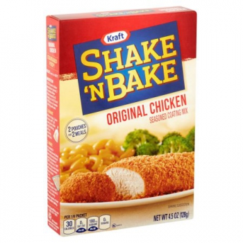 Kraft Shake 'n Bake Original Chicken Seasoned Coating Mix ca. 127g (4.45oz)