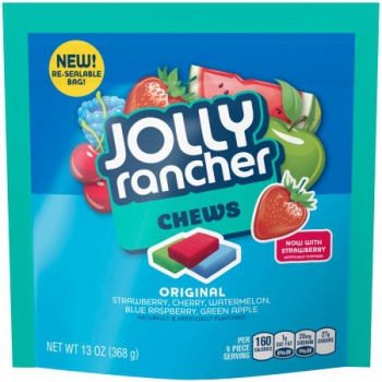 JOLLY RANCHER Chews Candy ca. 396g (14oz)