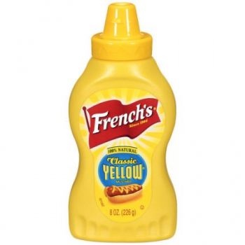 French's Classic Yellow Mustard ca. 226g (8oz)