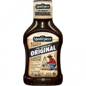 KC Masterpiece Original Barbecue Sauce ca. 510g (18oz)