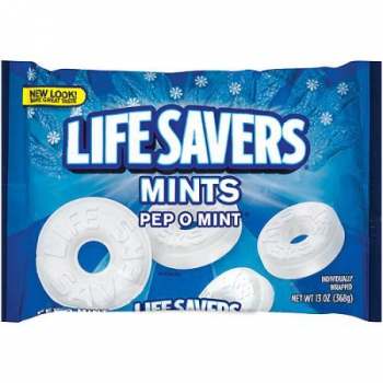 Life Savers Pep-O-Mint Candy ca. 368g (13oz)