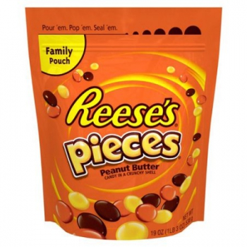 Reese's Pieces Peanut Butter Candy ca. 538g (19oz)
