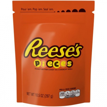 Reese's Pieces Candy ca. 297g (10.5oz)