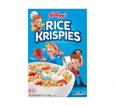 Kellogg's Rice Krispies Toasted Rice Cereal ca. 340g (12oz)