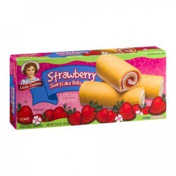 Little Debbie Strawberry Shortcake Rolls ca. 369g (13oz)